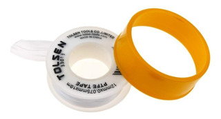 Teflon Profesional Tolsen 12mm X 0,075mm X 10m 5 Unid