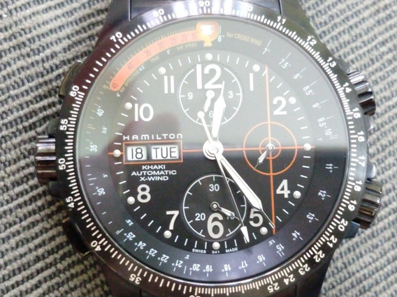 Relógio Hamilton Khaki X-wind Black