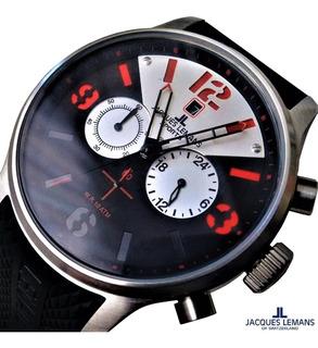 Reloj Jacques Lemans Porto Original Crono Prof. Wr. 100 Mt