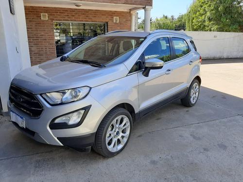 Ford Ecosport Titanium Plata C/gnc 5ta Gen 2018 105.000 Km