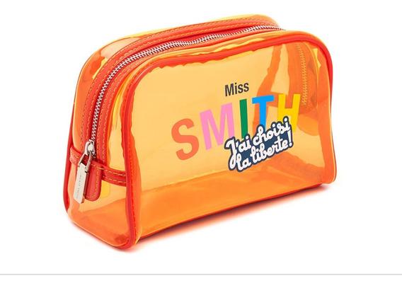 Portacosméticos Sobre Necessaire Pouch Jackie Smith Naranja
