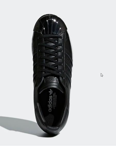 Tenis adidas Originals Superstar 80s Preto Feminino