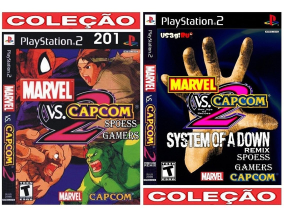 Marvel Vs Capcom 2 Ps2 Soad Mix + New Age Of Heroes Patch Me