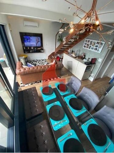Imagem 1 de 25 de Apartamento Duplex Com 1 Dormitório À Venda, 67 M² Por R$ 1.090.000,00 - Campo Belo - São Paulo/sp - Ad0019