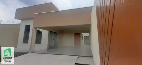 Venda Casa 3 Quartos Sendo 1 Suite 2 Vagas Área De Lazer - 5970