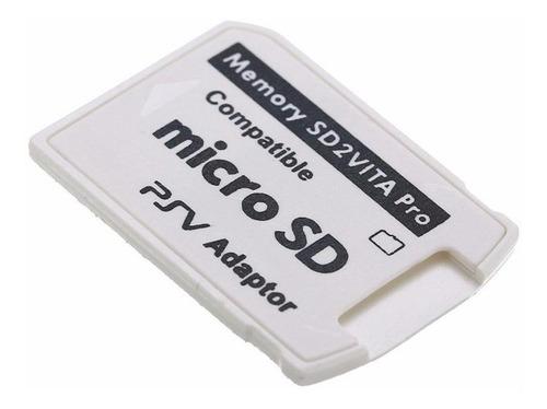 Convertidor Tarjeta Micro Sd A Ps Vita Pro Ps Henkaku 3.60