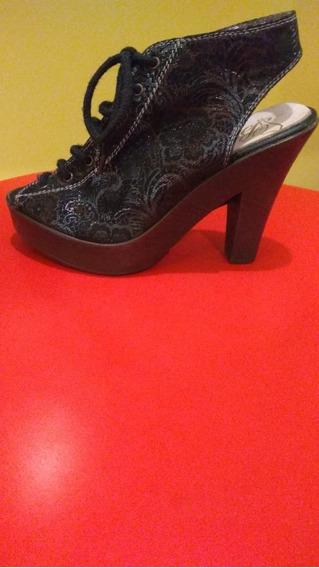 Zapato Dama Zueco Gamuza Nuevo