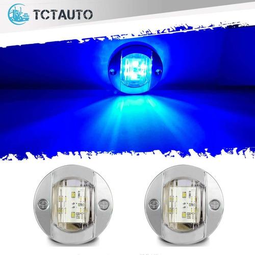 Imagen 1 de 6 de Tctauto - Luces Led Para Navegacion, Para Interior De La Ca