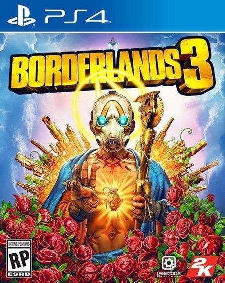Borderlands 3 Ps4 Mídia Física Novo Original Lacrado