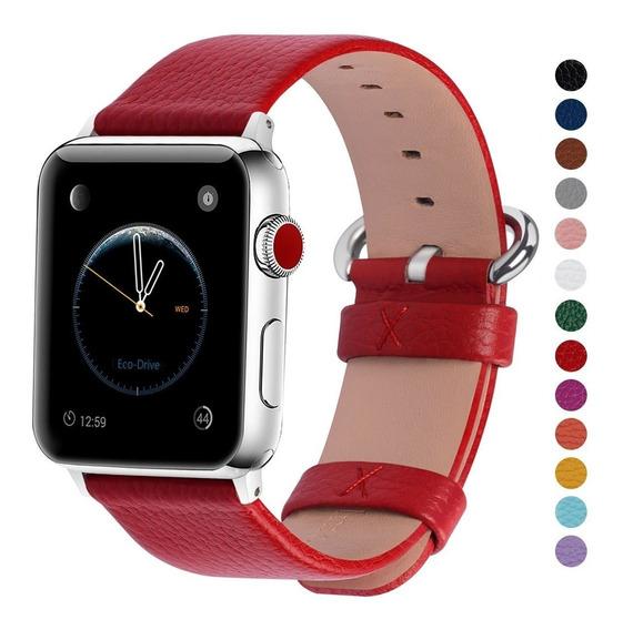 Extensible Correa Apple Watch Cuero 38mm 40mm 42mm 44mm A2