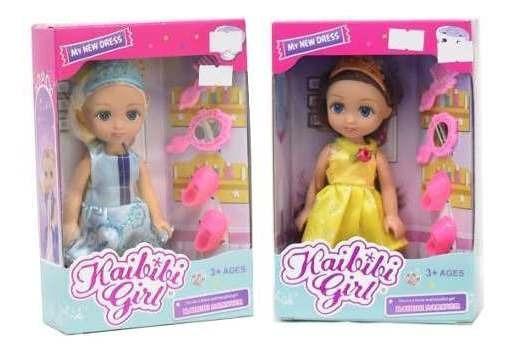 Muñecas Princesas Articuladas Con Accesorios Coleccionables