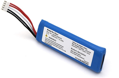 Bateria De Reemplazo Para Jbl Flip 4 Gsp872693 01