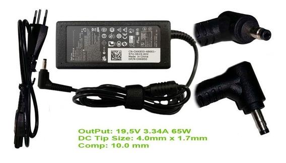 Carregador Dell Da65nm111-00 19.5v 3.34a 65w Chanfro 783