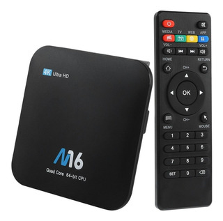 Tv Box Convertidor Smart Tv Ultra Hd 4k Original Quad Core