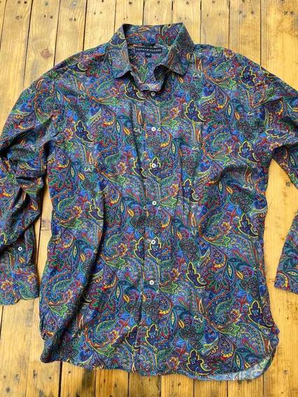 Tommy Hilfiger Camisa Para Caballero Talla Xl