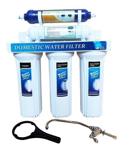 Filtro De Agua 5 Etapas Con  Biocida Y Alcalinizador  Bioene