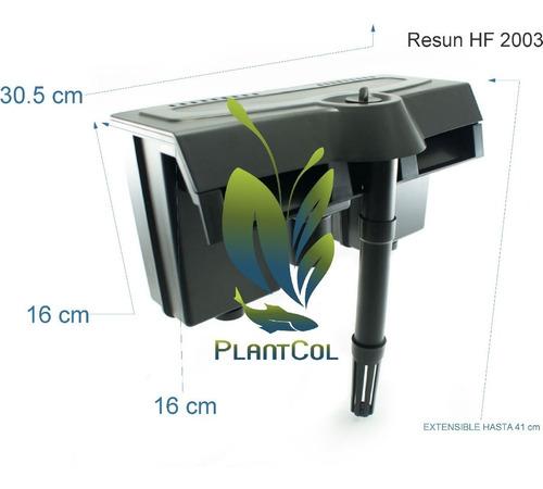 Filtro De Cascada Resun Hf-2003 Cap. 720 L/h  Acuario
