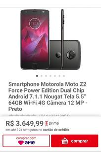 Smartphone Motorola Moto Z2 Force Power