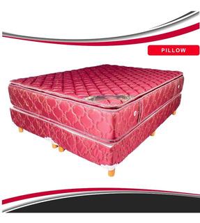 Sommier Espuma Alta Densidad 2y1/2 Doble Pillow 190x140x28