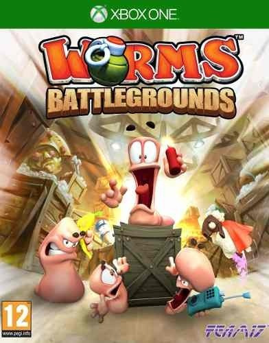 Worms Battlegrounds Xbox One Código 25 Dígitos
