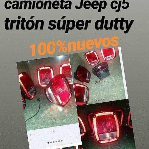 Stop Universal Para Camion, Triton Y 350