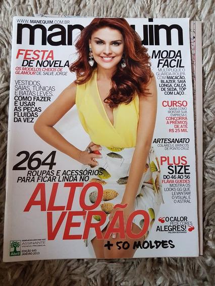 Revista Manequim Edição 645 Janeiro 2013 Com Moldes
