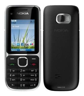 Nokia Cseries C2-01 43 Mb Preto 64 Mb Ram