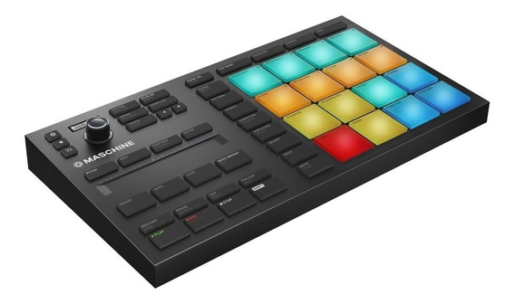 Controlador Maschine Mikro Mk3 Native Instruments