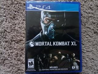 Ps4 Mortal Kombat Xlps4 Nuevo Sellado