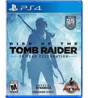 Rise Of The Tomb Raider 20 Year Celebration Nuevo Ps4