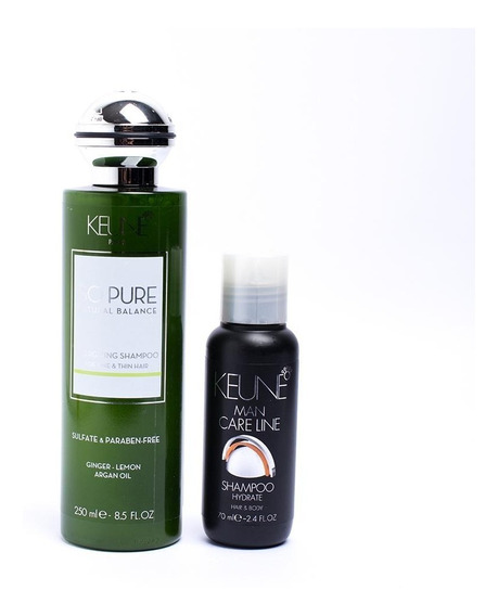 Kit Shampoo Keune So Pure Energizing + Hydrate Shampoo