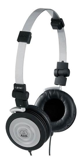 Fone De Ouvido Headphone Akg - K414p Profissional Compacto