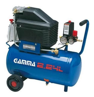 Compresor De Aire Portatil Gamma 24 Lts 2hp G2801