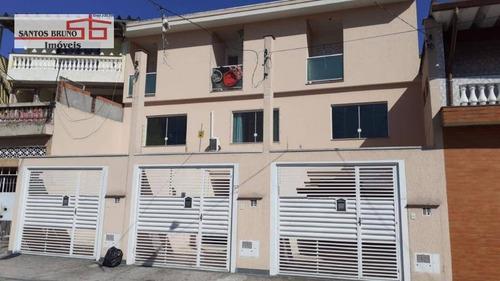 Sobrado Com 3 Dormitórios À Venda, 100 M² Por R$ 470.000,00 - Vila Zat - São Paulo/sp - So1165