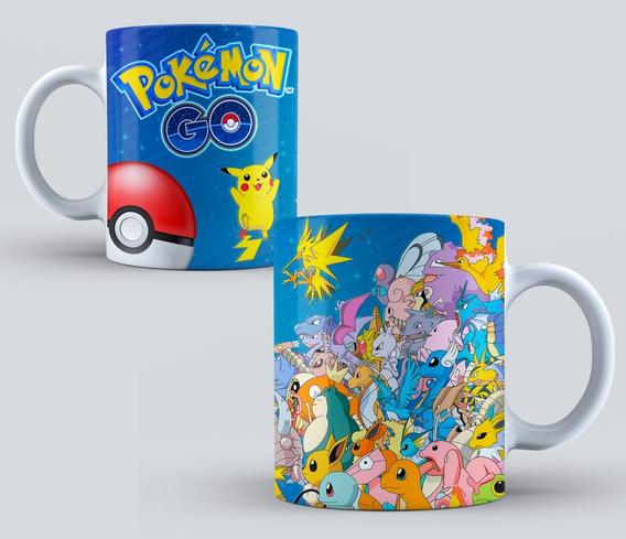 Taza Personalizada Pokemon Modelo 01 (pokemon Go)