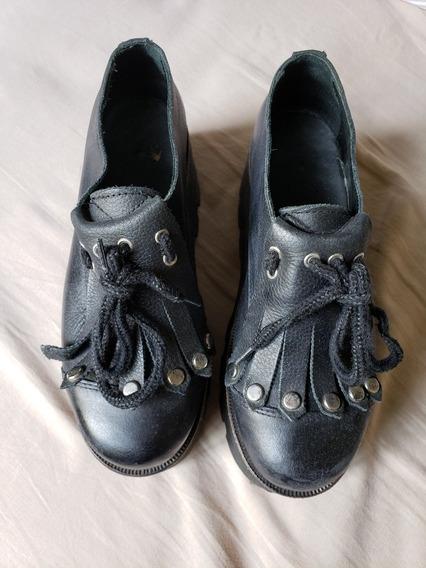 Zapatos Sofía De Grecia Negros