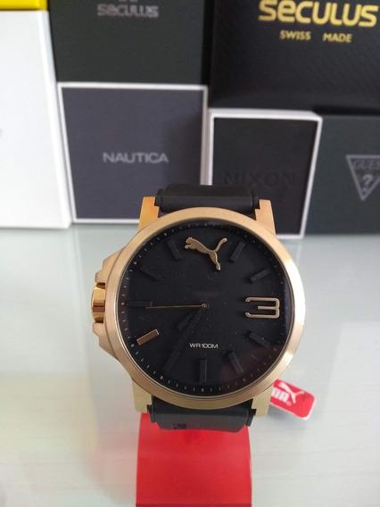 Relógio Puma Masculino Caixa Em Aço