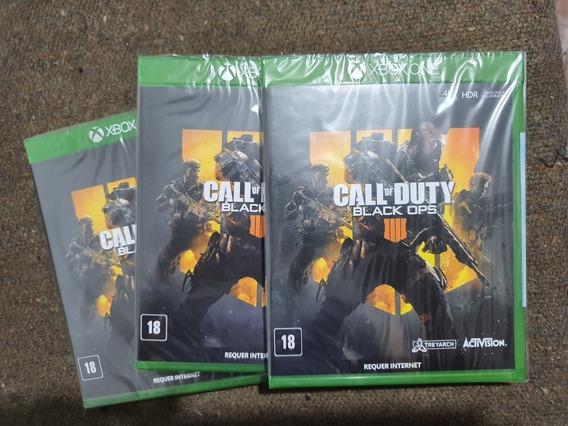 Call Of Duty Black Ops 4 Xbox One Midia Física Português