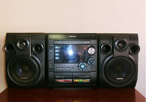 Equipo De Sonido Samsung Para 3 Cd