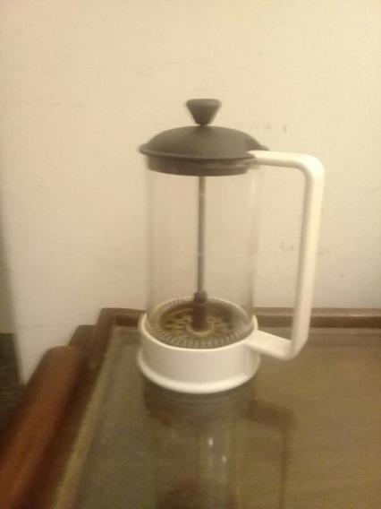 Cafetera A Embolo Bodum - 3 Pocillos Usada Buen Estado