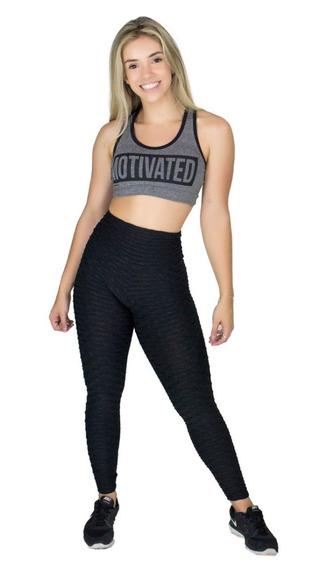 Kit 10 Top Fitness Escrito Com Bojo Liso Academia Malhar