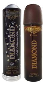 Perfume Cuba Diamond Masculino Edp Prime 100 Ml Charuto