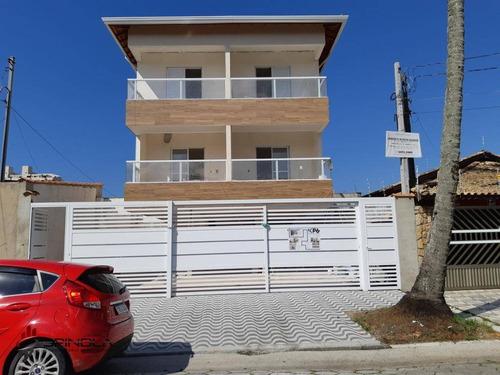 Sobrado Com 2 Dormitórios À Venda, 57 M² Por R$ 230.000 - Maracanã - Praia Grande/sp - So0078