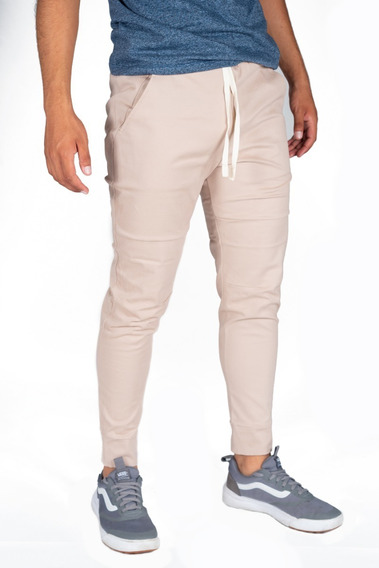 Pantalón Jogger Casual Gabardina 3 Colores Envío Gratis