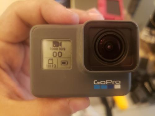 Câmera Gopro Hero 6 Black Original + Acessórios Usado