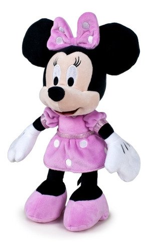 Imagen 1 de 4 de Peluche Minnie Mouse Original Disney Grande 60cm 26781 Edu