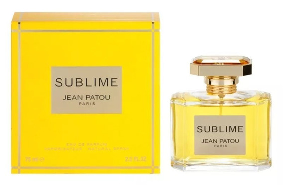 Perfume Sublime Jean Patou For Women Eau De Parfum 75ml Novo
