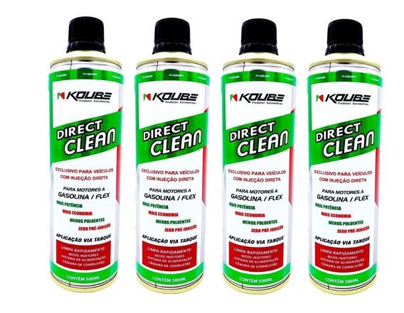 Koube Direct Clean Injeção Direta Motores Álc Gas 4 Unidades