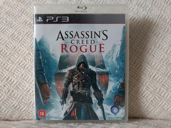 Jogo Ps3 Assassins Creed Rogue Signature Edition Mídia Físic