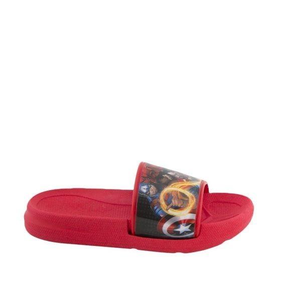Sandalia De Playa Avengers 2435color Rojo De Niño